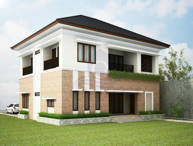 Desain Eksterior Rumah Bapak Ismu Nandar di Boyolali