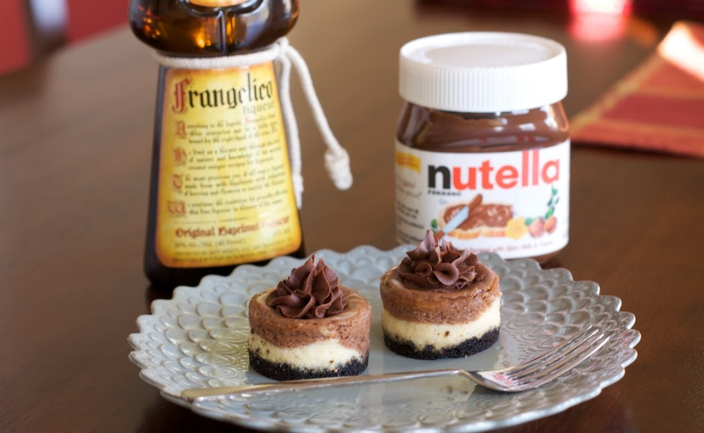 angie 39 s sweet natured treats mini nutella frangelico. Black Bedroom Furniture Sets. Home Design Ideas