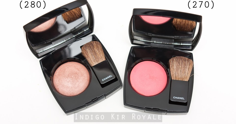 Indigo Kir Royale: NEW CHANEL JOUES CONTRASTE BLUSHES IN ...