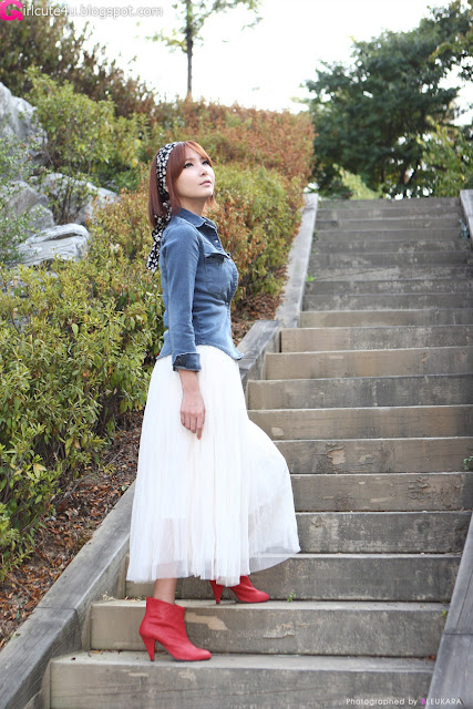 9 Jang Jung Eun - Outdoor-very cute asian girl-girlcute4u.blogspot.com