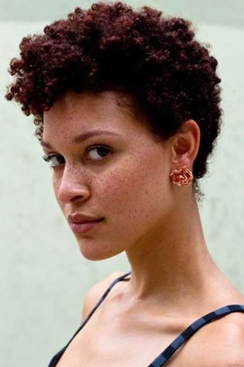 super short cuts for curly hair