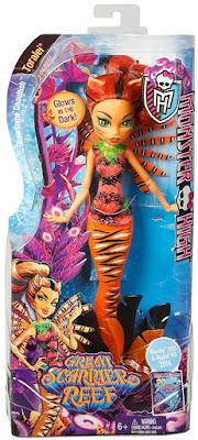 TOYS : JUGUETES - MONSTER HIGH : Great Scarrier Reef  Toralei Stripe | Muñeca - Doll   Producto Oficial 2015 | Mattel | A partir de 6 años  Comprar en Amazon España & buy Amazon USA
