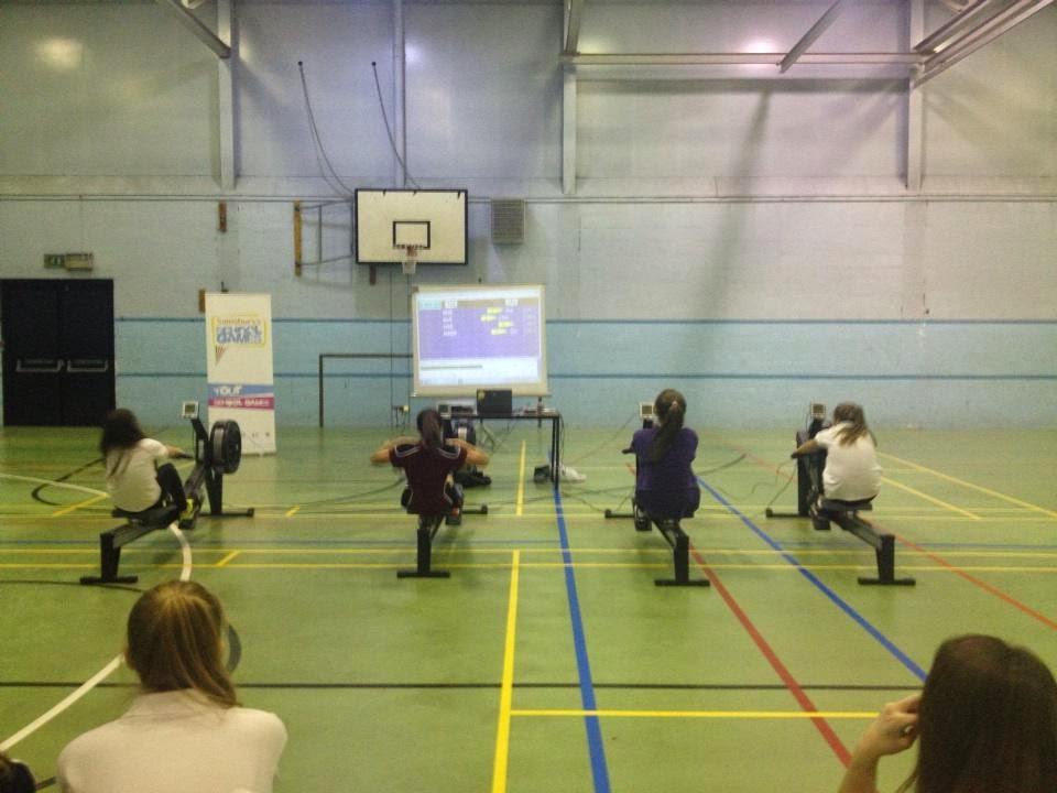 Congleton High School Sports Blog: YEAR 9 INDOOR ROWING- 26th February