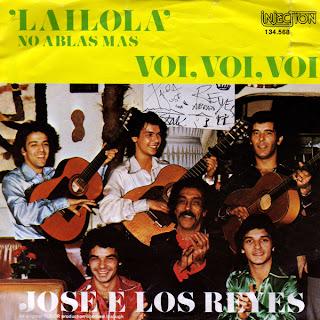 JOSE E LOS REYES – Lailola (No Ablas Mas),Vinyl 7\