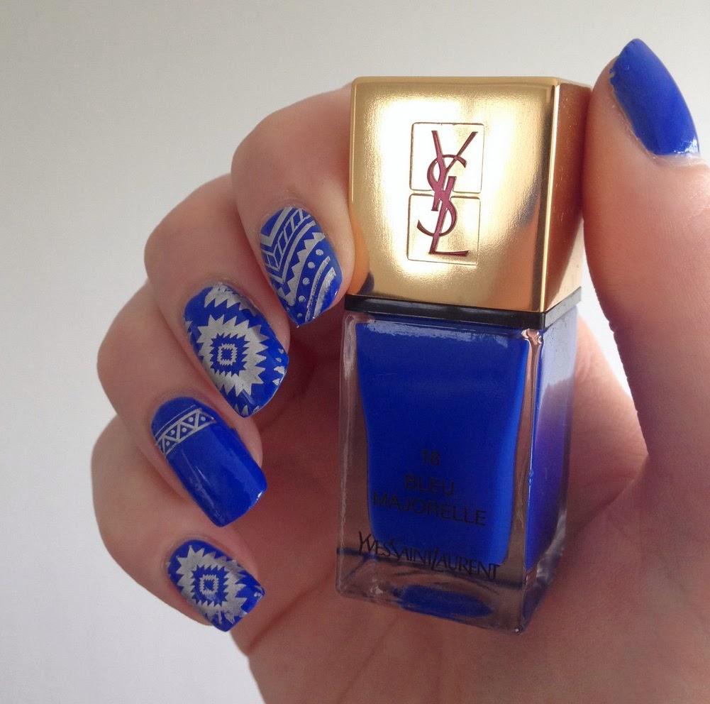 bleu majorelle ysl aztèque