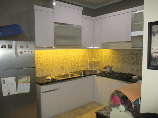 Kitchen set mbak Wika ,Villa Cinere