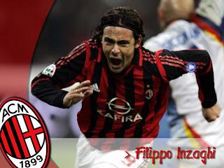 Filippo Inzaghi AC Milan Wallpaper 2011 4