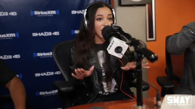 Tinashe Interview + '5 Fingers Of Death' Freestyle on Sway In The Morning Show