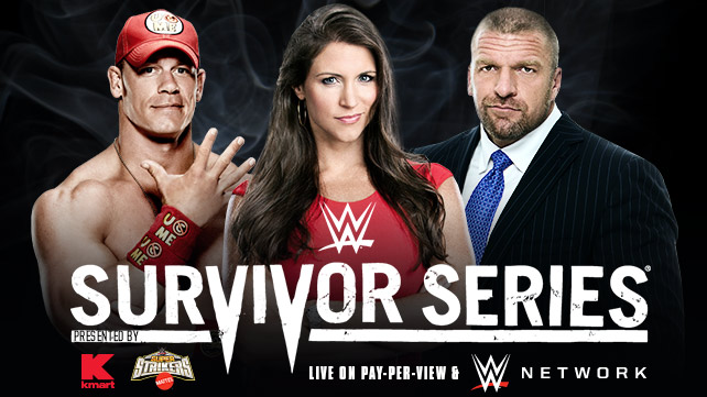 Survivor series WWE John Cena The Game Ziggler Stephanie McMahon