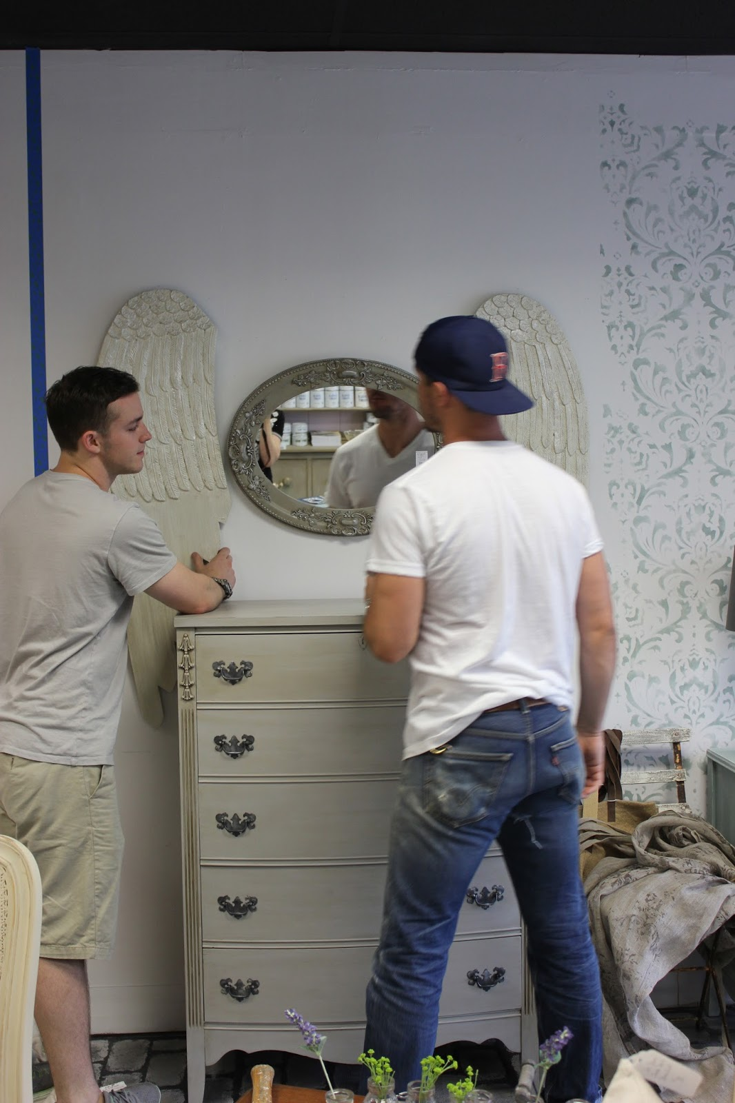Maison Decor Making More Beautiful Frottage Classes And