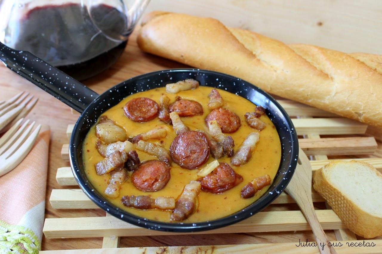 Julia y sus recetas gachas manchegas de pitos titos o for Verdura tipica romana