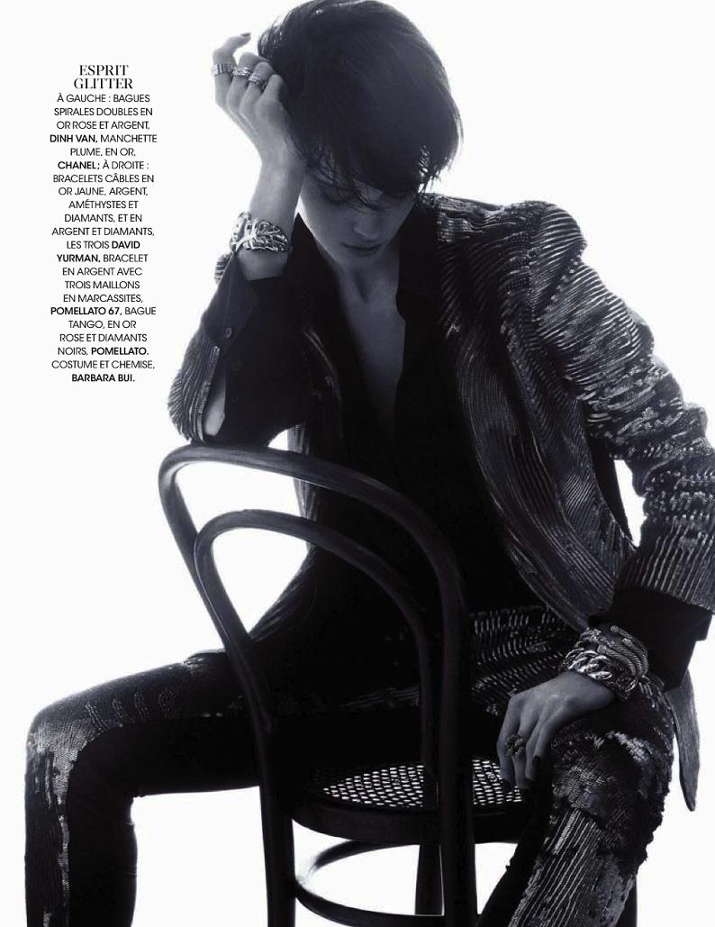 Sasha Martynyuk By Thiemo Sander For Madame Figaro 29th November 2013