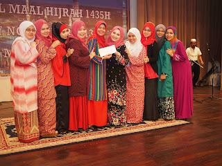 Juara Nasyid Kumpulan Wanita Pertandingan Nasyid Karnival Maal Hijrah 1435 (SSC)