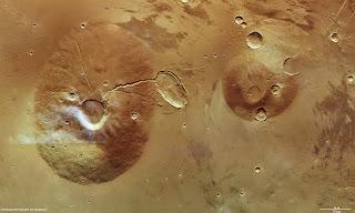 volcanes de Marte