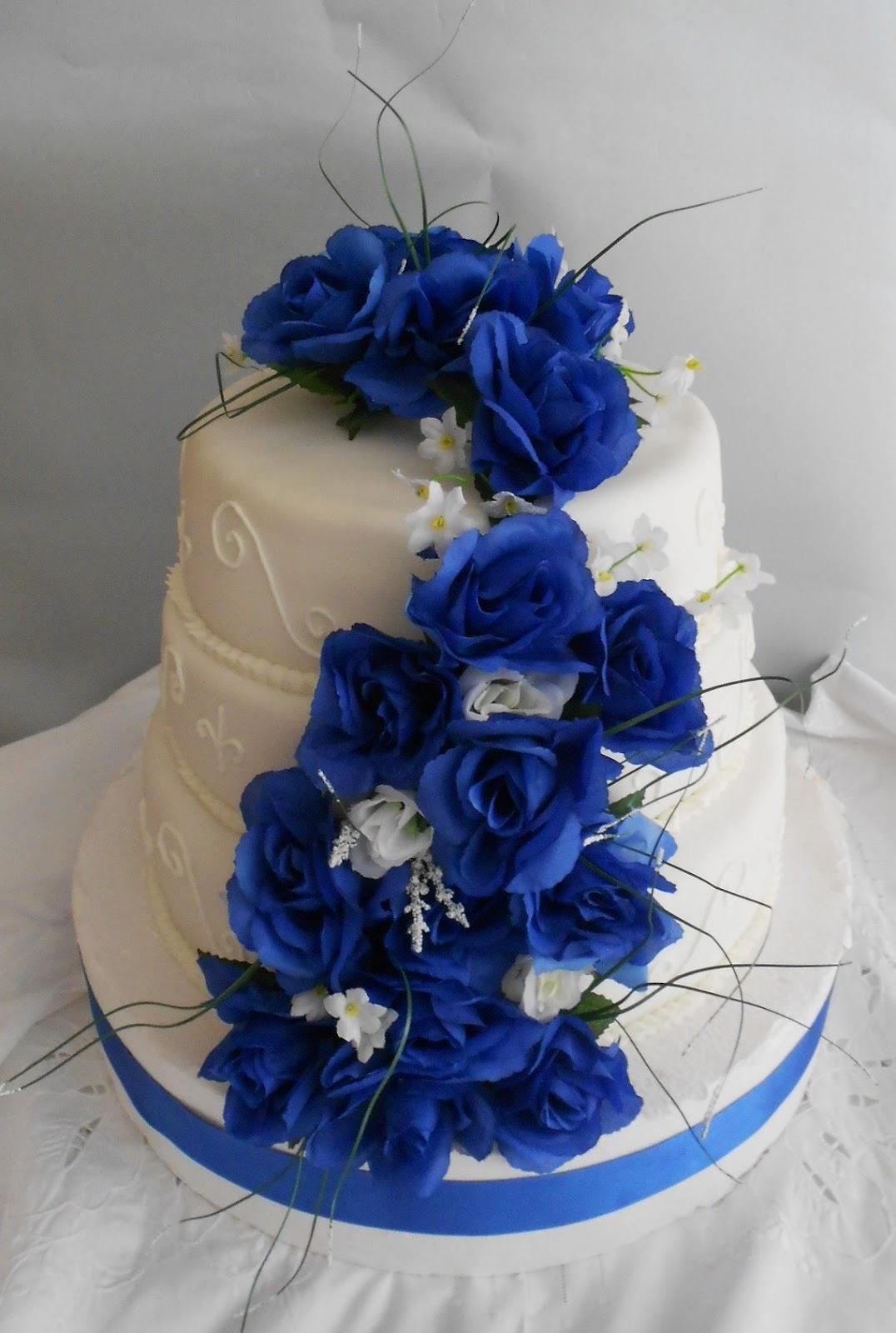 Fotos de tortas en color azul en forma de estrella - Imagui