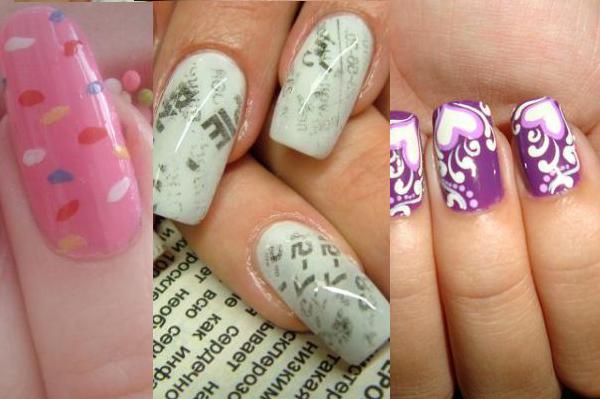 Enlace : 35 ejemplos de diseño de uñas