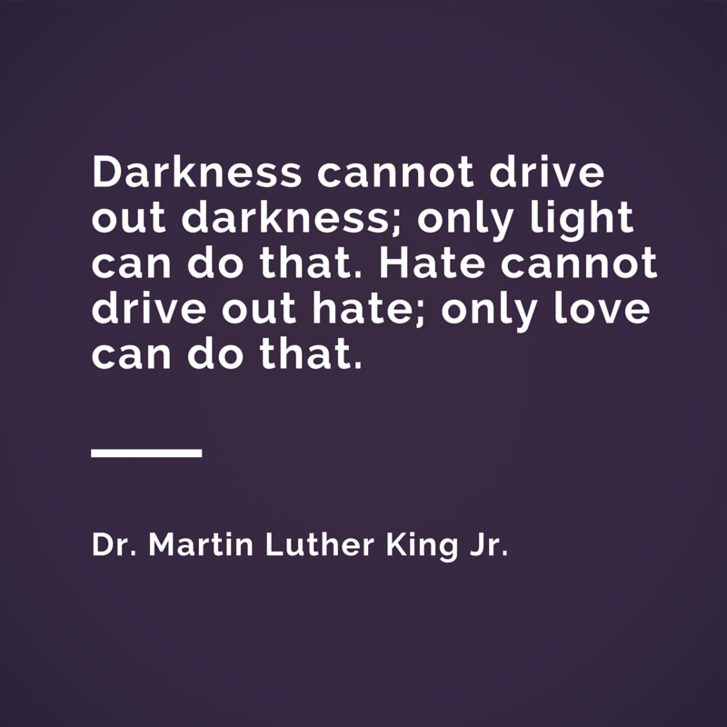 Cordier Events favorite MLK quote