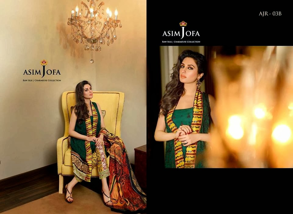 AsimJofaWinterCollection2014 wwwfashionhuntworldblogspotcom 013 - Asim Jofa Winter Collection 2014