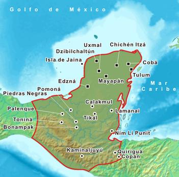 Las encuestas de jef trompel 09 01 2011 10 01 2011 for Cultura maya ubicacion