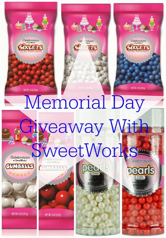 Memorial Day Candy Pack Giveaway With @SweetWorks; ends May 17