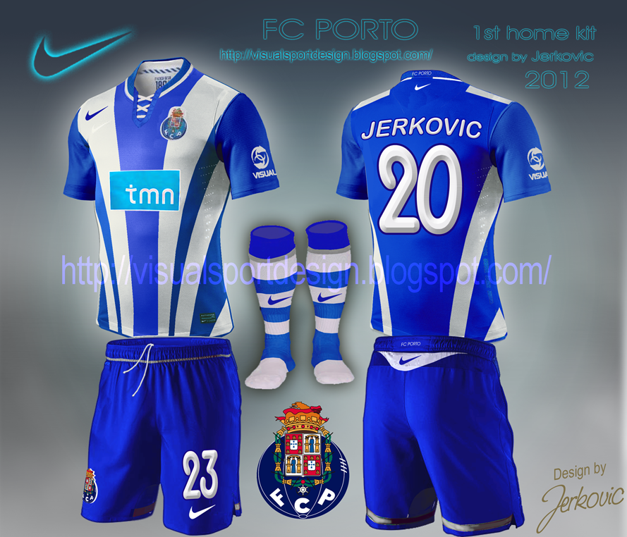 Fc Porto: Visual Football Fantasy Kit Design: FC PORTO NIKE