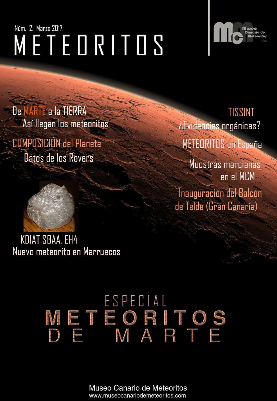 Revista METEORITOS-2. Marzo 2017