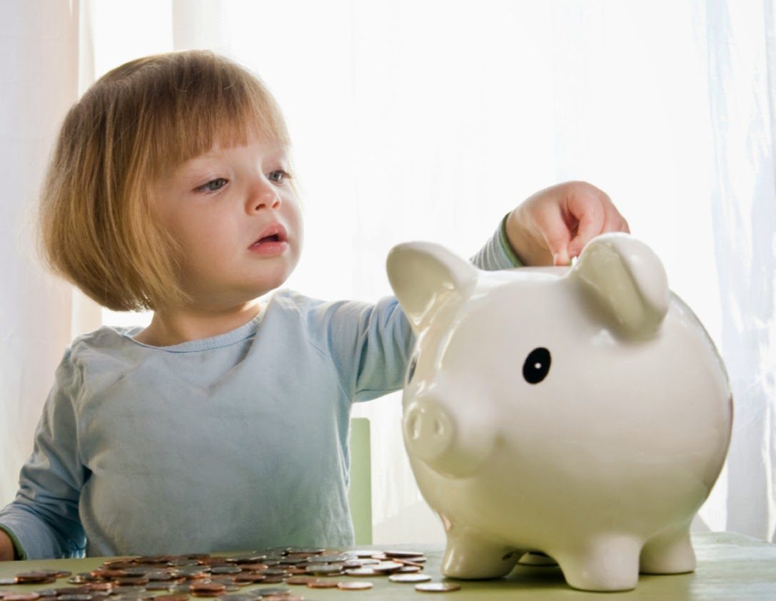Kids Saving Money Can Be Basic