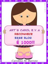 Selinho... Art's Carol E.V.A.