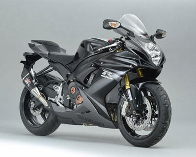 New Suzuki GSX-R750 Special Black