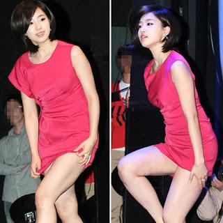 Artis Korea Cantik Ini Malu Skirtnya Terlalu Pendek ~ BeritaHangat™