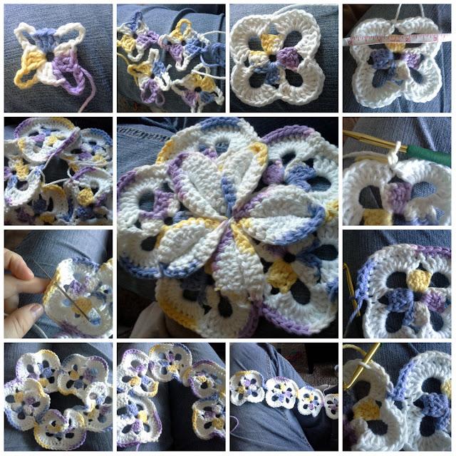 free starburst hotpad crochet pattern