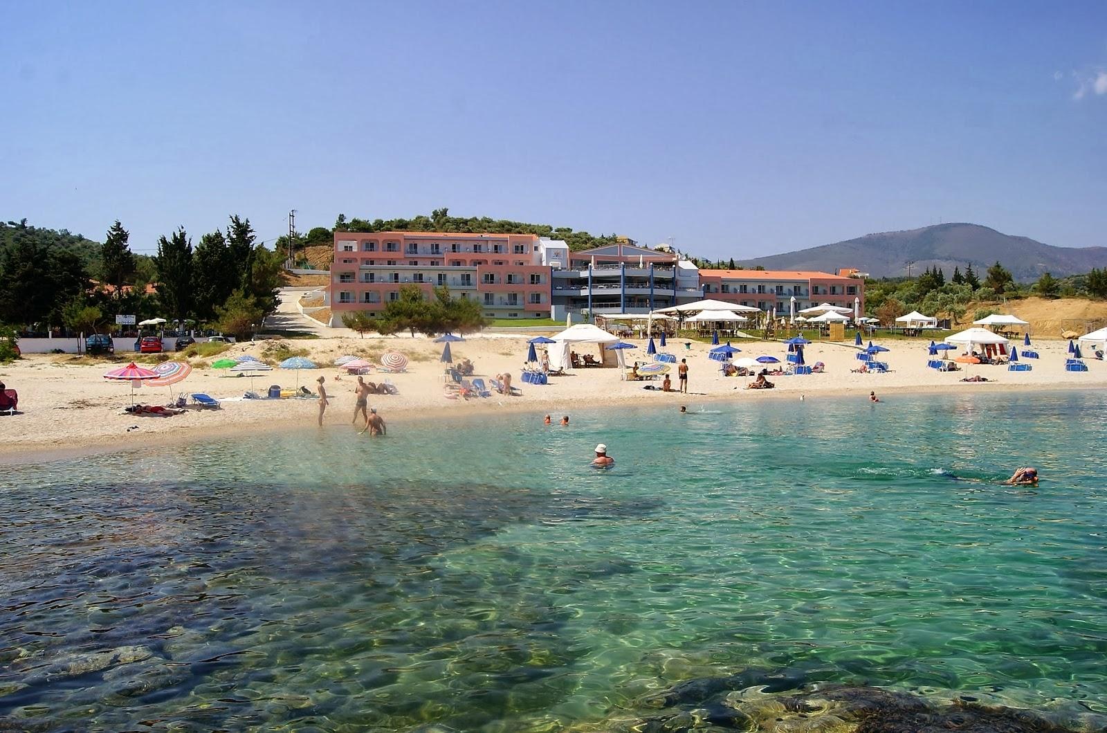 Plaża Tripiti, wyspa Thassos