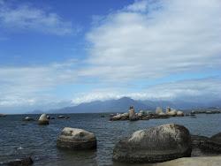PRAIA DE ITAGUAÇU- Continente da Ilha de Santa Catarina