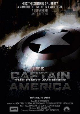 Poster Película Capitán América