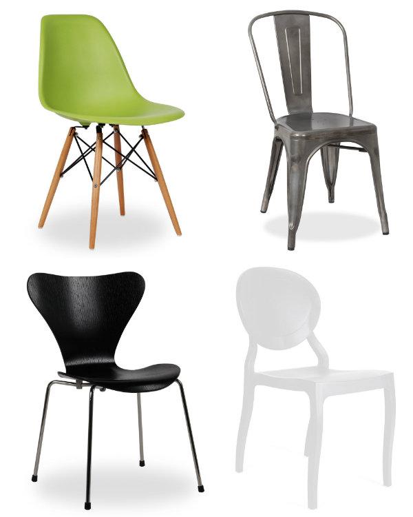 Nos gusta las sillas de dise o de superstudio for Sillas comedor originales