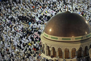 2.5m pilgrims arrive in mecca for annual hajj that begins nov4