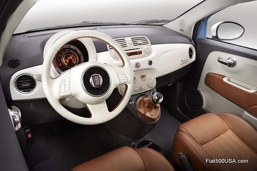 "Fiat 500 ""1957 Edition"" interior"