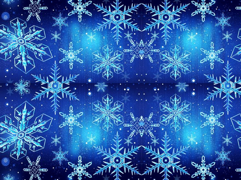 Christmas Snowflakes Background Wallpapers And Clip Art