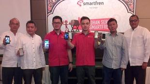 Smartfren Kenalkan Smartphone Baru