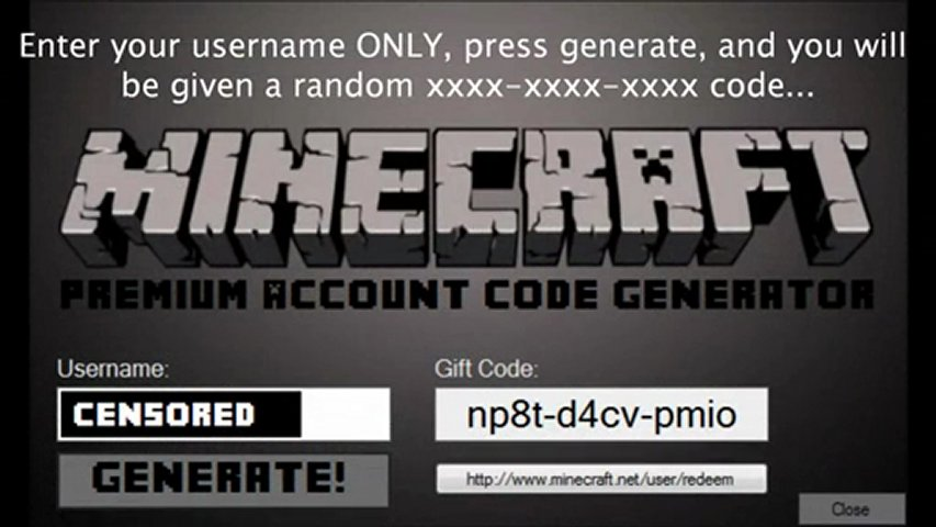 Free Minecraft Account