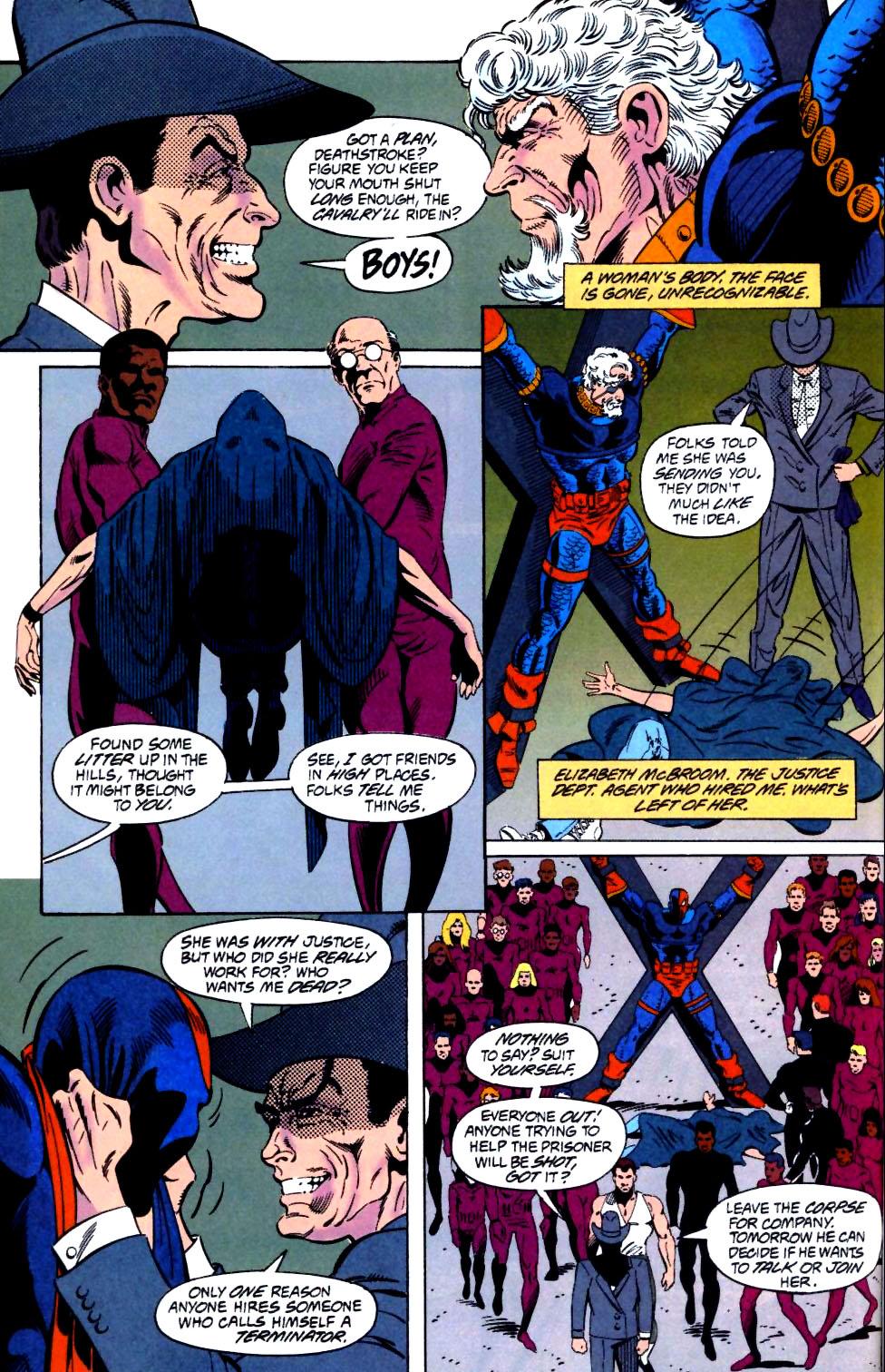 Deathstroke (1991) Issue #25 #30 - English 5