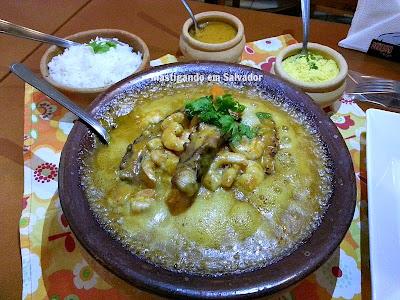 Varanda's Restaurante e Bar: Moqueca de Camarão e Polvo