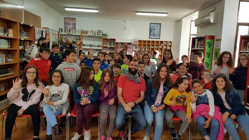 JUAN VILLÉN CUENTA CUENTOS A EDUCACIÓN PRIMARIA, 25/10/2018