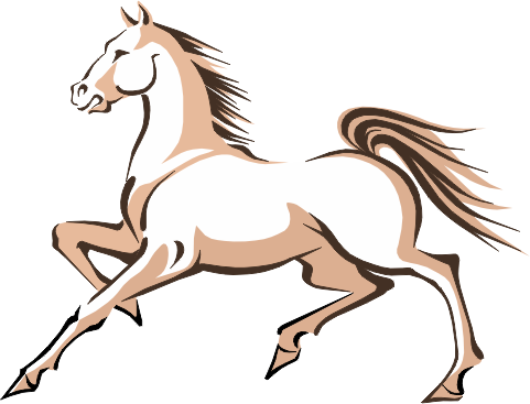 2014 Año chino del caballo - beig