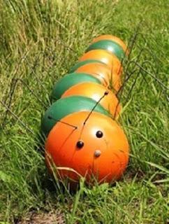 Ideas para Reciclar Bolas de Bowling o Bolos, III Parte