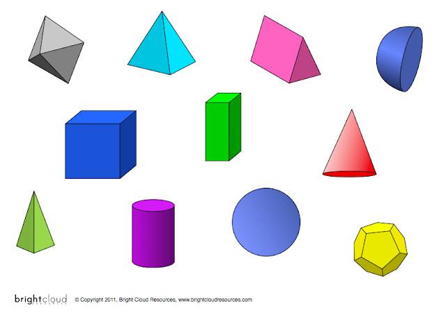 3d Shapes Facts :: 3d Puzzle Image