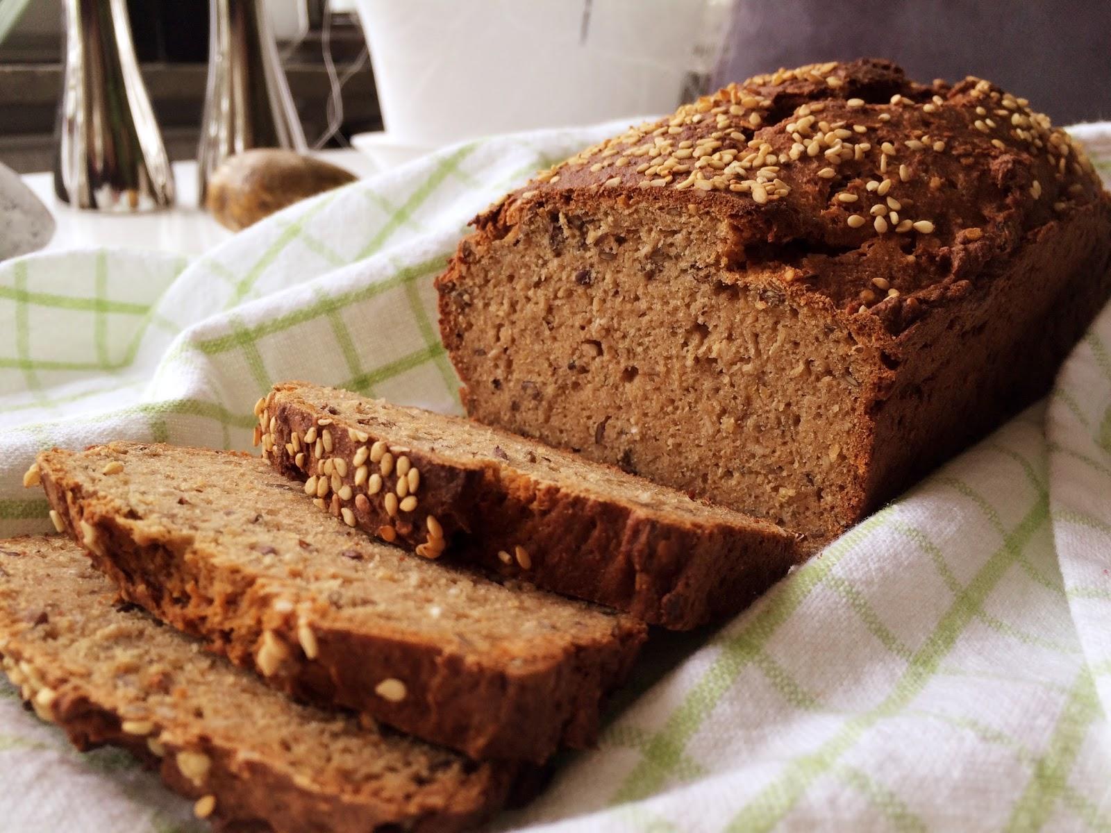 glutenfritt bröd med havregryn