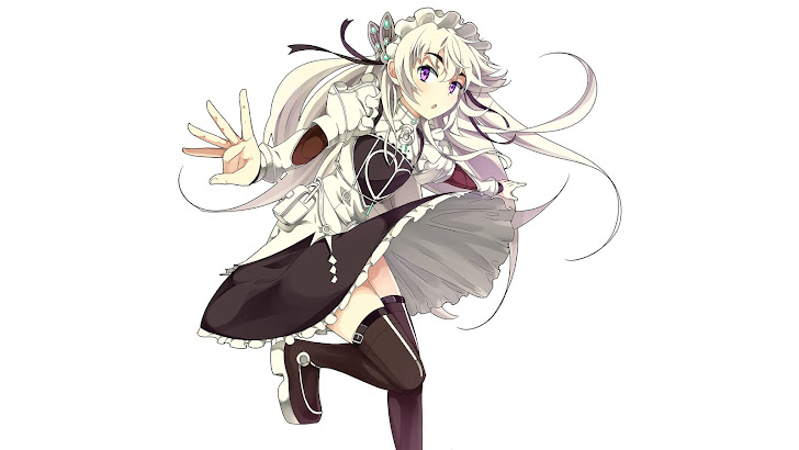Chaika Trabant Anime Girl