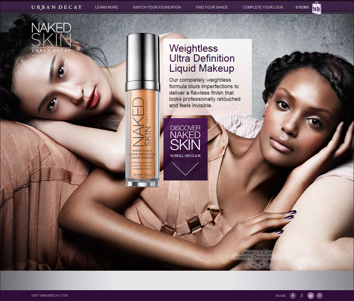 Urban+Decay+Ad+ +lounging Makeup Talk: L'Oreal Set to Purchase Urban Decay Cosmetics