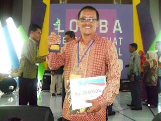 SDN Suryakencana CBM Juara I LSS Tingkat Nasional